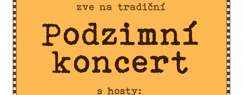 Meziříčská Beseda zve na Podzimní koncert