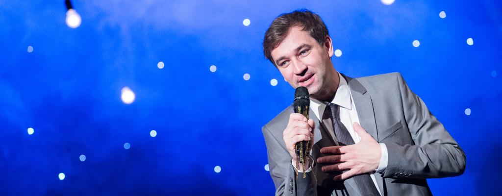 Jedinečný Ondřej Sokol ve vlastní one man show