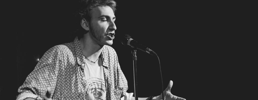 Slam poetry s Anatolem Svahilcem a dalšími v M-klubu