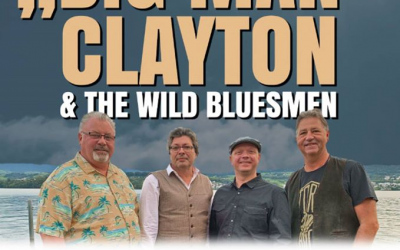 "Steve"" Big Man"" Clayton & the Wild Bluesmen  (Bobrovniczký)"