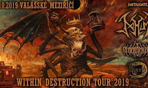 Within Destruction Tour 2019 + Valmez 2019