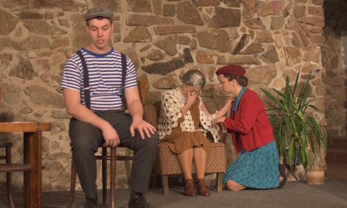 Chaverut uvede záznam autorské divadelní hry vsetínského Spolku Na cestě