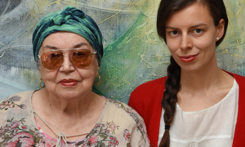 Jana Ullrichová pokřtí obrazovou publikaci v rámci výstavy v Muzejním a galerijním centru