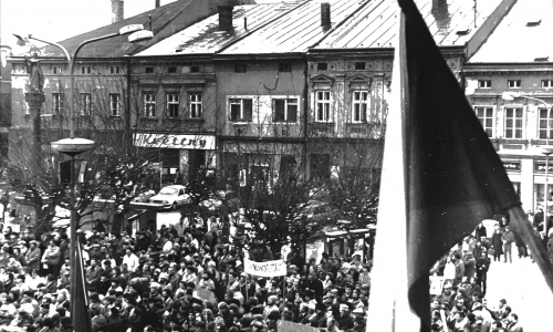 Listopad ve znamení třicátého výročí od Sametové revoluce