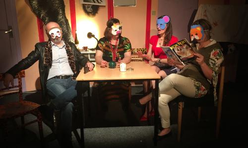 Divadlo Zticha uvede absurdní komedie Mravenčení